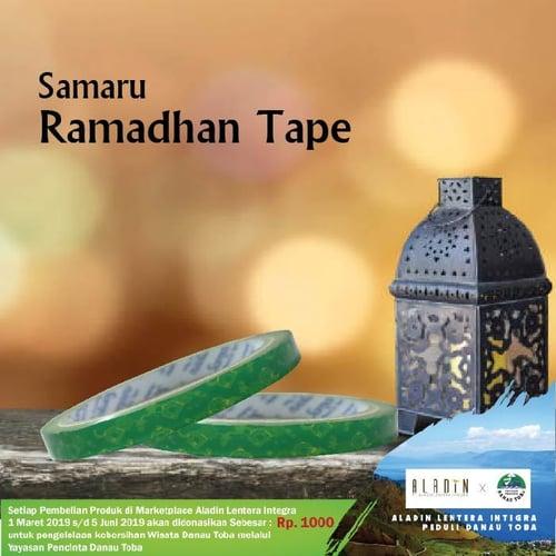 SAMARU Ramadhan Tape 0.5 inch x 55 yard
