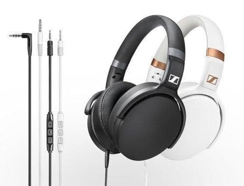 Sennheiser HD 4.30G White (Android) / HD 4.30i Black (Iphone) - Hitam