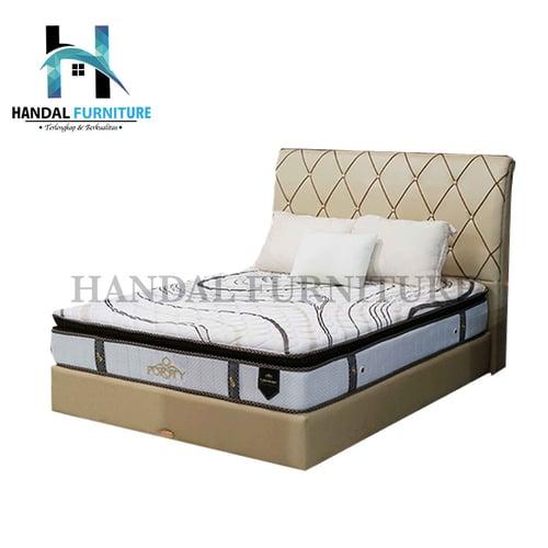 Superland Set Kasur Spring Bed Purity 90x200