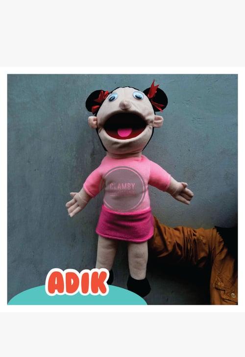 Boneka Tangan Pupet / Boneka Karakter Adik / Mainan edukasi