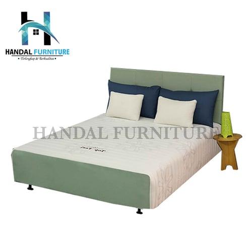 Superland Set Kasur Spring Bed Top Feel 120x200