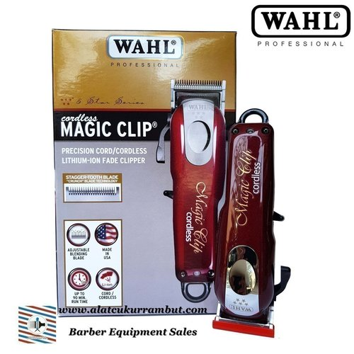 Alat Cukur Rambut Hair Clipper WAHL Magic Clip Cordless 5 Star