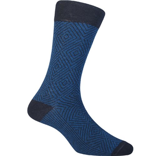 Kaos Kaki Marel Socks Men Hoover Plain Navy/Black