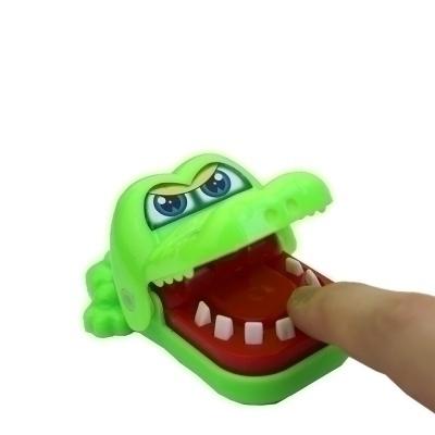 Gantungan Kunci Mainan Buaya Gigit Jari Lucu - Keychain Crocodile Dentist