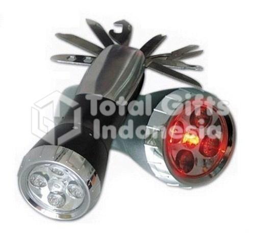 Souvenir Promosi Multi Tools Mini Senter PP