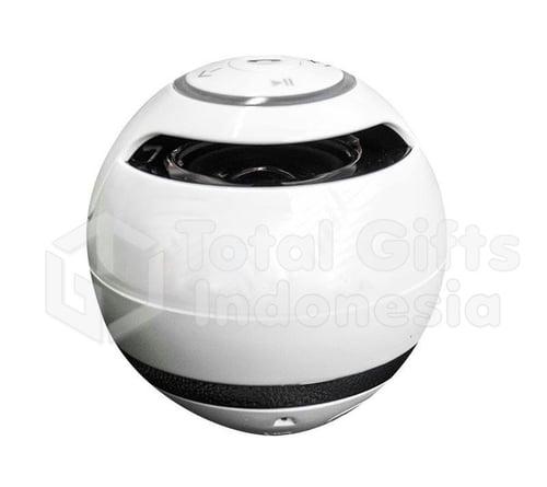 Souvenir Promosi Music Player Round Bluetooth Speaker