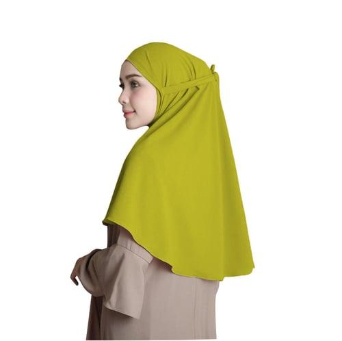 Bellia Hijab - Pasmina Instan No Pad - Instan Tali - Lime