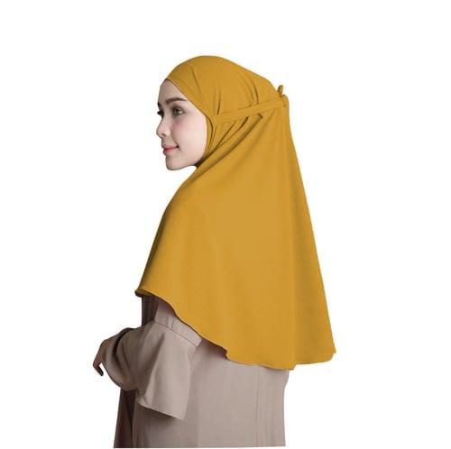 Bellia Hijab - Instan Fatimah - Instan Tali - Mustard