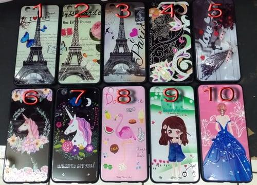 Case Fuze Girly Paris Oppo F9, A71, F1s, A57, Neo 7 A33, 9 A37, A3s, Vivo V15, V11, Y93, Y69 Y53, Xiaomi Redmi 4A, 4X, 5A, 6A, 6, MiA1, Note 2, 3, 4X, 6 Pro, Samsung J1 Ace, J2, J5, Core 2, M20, J2 &  J7 Prime, J4 & J6 Plus, J5 & J7 2016