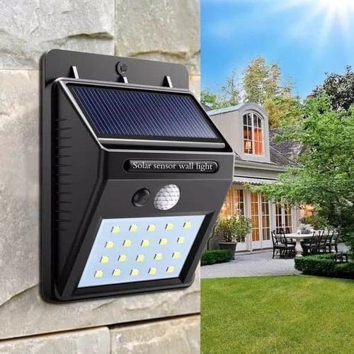 Lampu Solar Motion Sensor LED Light Taman Tenaga Surya