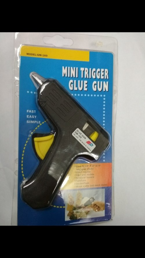 Alat lem tembak kecil 10 watt Mini trigger glue gun GM-160 Original