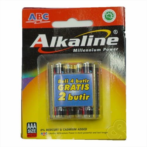 Alkaline AAA 4+2