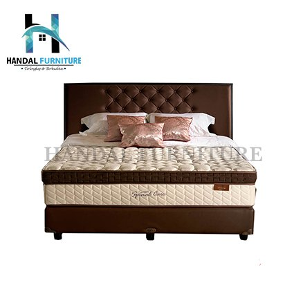 Lady Americana Set Kasur Spring Bed  Spinal Care 180 x 200