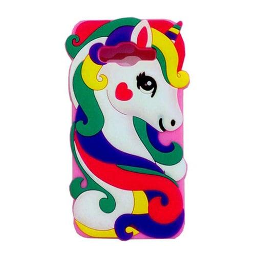 Softcase Silikon Little Ponny Rainbow Unicorn Samsung J1 Ace