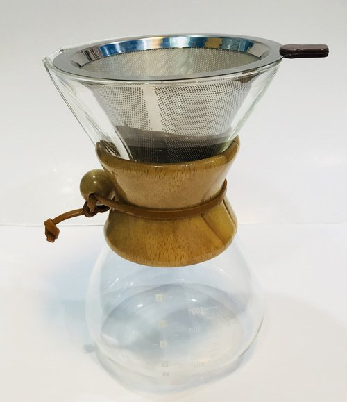 Chemex Wood Handle with Mesh Filter 800ml CHMX 2187