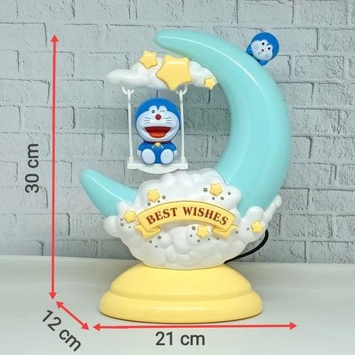 Lampu Tidur Bulan Sabit Doraemon