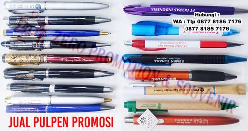 pulpen promosi bisa custom logo atau tulisan di jamin murah