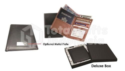 Souvenir Promosi Leather Passport Holder 02