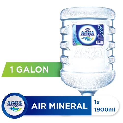 AQUA Air Mineral 19 Liter 1 Galon