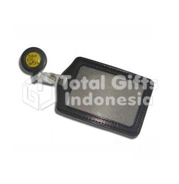 Souvenir Promosi Casing ID Card Kulit
