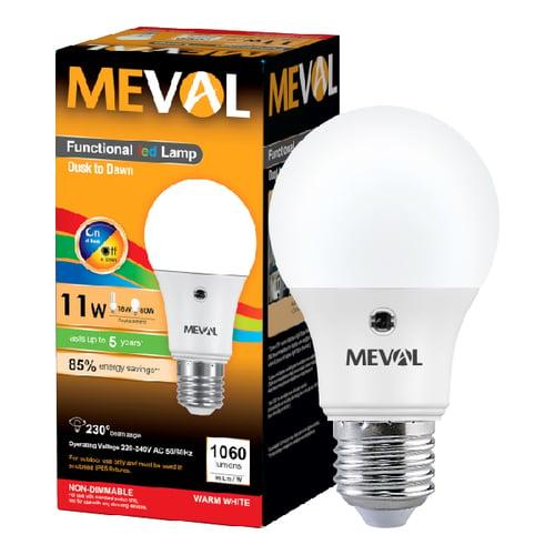 Meval LED Photo Sensor 11W - Kuning