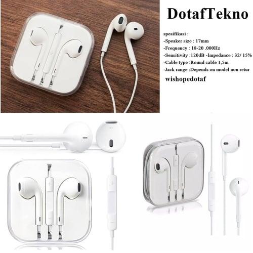 Headset Iphone Earpods White