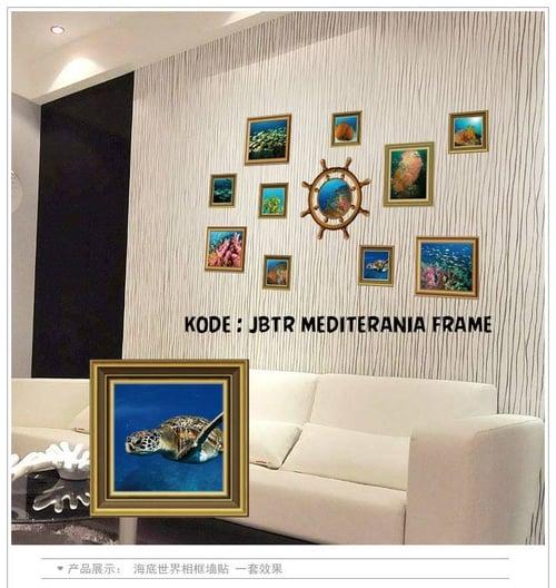 Termurah & Best Seller ! Sticker Dinding Wallsticker Mediterania Frame