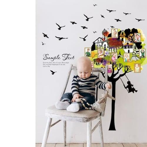 Termurah & Best Seller ! Sticker Dinding Wallsticker Rumah Pohon