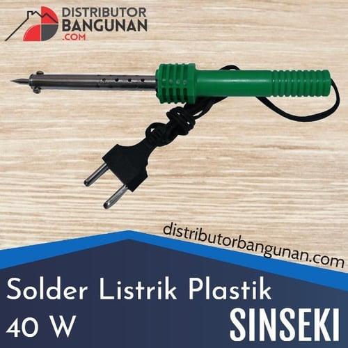 Solder listrik Plastik 40 W SINSEKI