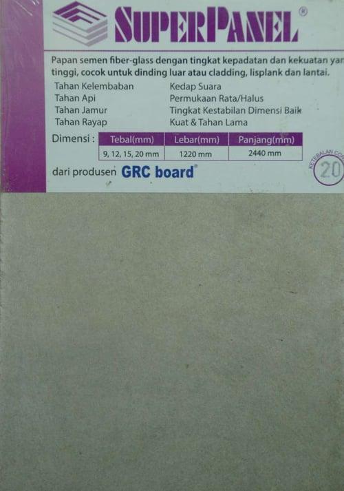 GRC Super Panel 20 mm x 1220 mm x 2440 mm