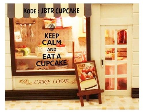 Termurah & Best Seller ! Sticker Dinding Wallsticker Cupcakes