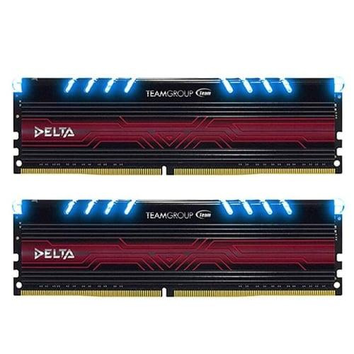 Team Delta DDR4 16GB (8GB X 2 ) PC 2400 - Biru