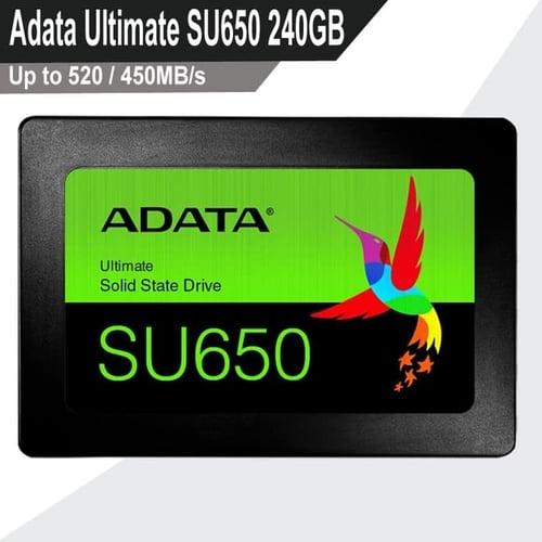 SSD Adata 240GB - SU650 Ultimate