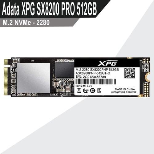 SSD Adata XPG SX8200 PRO 512GB M.2 NVMe