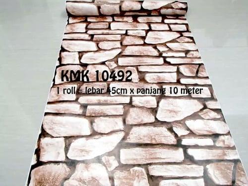 TERMURAH WALLPAPER DINDING!! PVC WALLPAPER !! WPP 10492