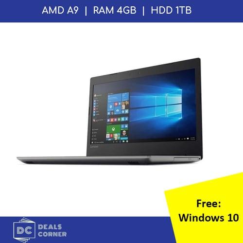 LENOVO IdeaPad 330-14AST-A9-9425-4GB-1TB-Win10 Onyx Black