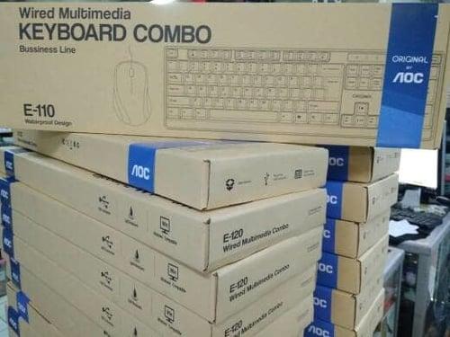 AOC ORIGINAL Combo Keyboard Mouse E110