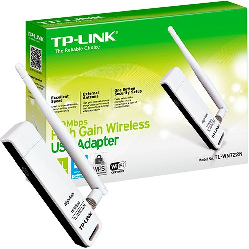 TP Link Wireless N USB Adapter 150Mbps TL-WN722N