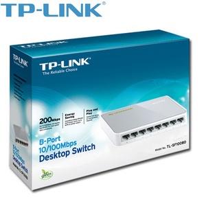 TP-LINK 8-Port Desktop Switch 10 100Mbps TL-SF1008D