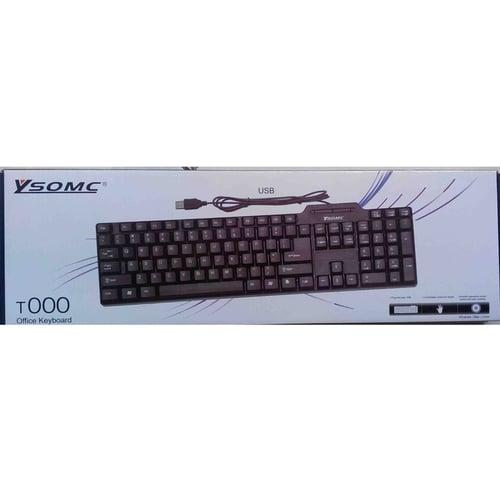 YSOMC Keyboard USB Standar Office T000
