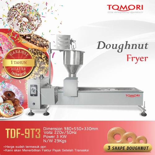 Mesin Pembuat Donat / Auto Doughnut Fryer (ThreeShapeDouthnut) TDF-9T3