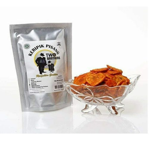 TWO BROTHER Keripik Pisang Rasa Balado 130gram