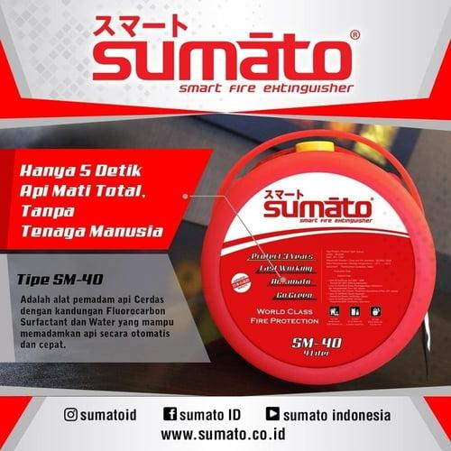 SUMATO SM-40 ALAT PEMADAM API OTOMATIS APAR