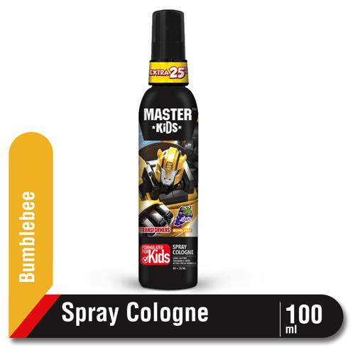 Master Kids Spray Cologne Transformer Bumblebee Botol 100 ml