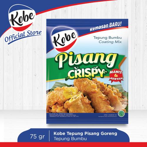 KOBE Tepung Pisang Goreng Crispy 75gr