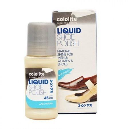 COLOLITE Liquid Shoe Polish Netral 12pcs 45 cc