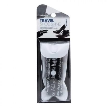 COLOLITE Travel Shoe Shine Black 12pcs