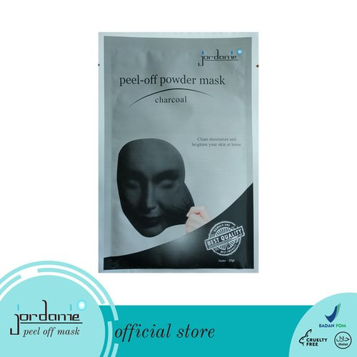 JORDANIE Peel Off Mask Powder Charcoal 20gr