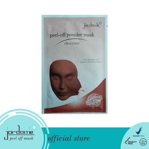 JORDANIE Peel Off Mask Powder Chocolate 20gr