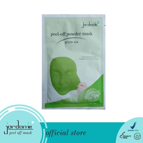 JORDANIE Peel Off Mask Powder Greentea 20gr